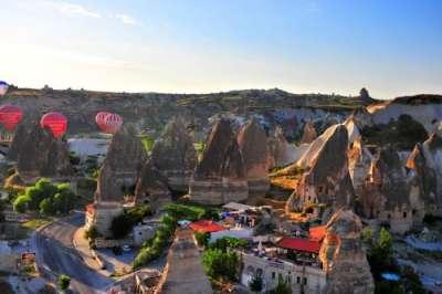 Гореме - сердце туристической Каппадокии